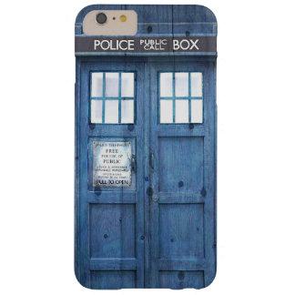 おもしろいな警察は公共呼出し箱に電話をかけます BARELY THERE iPhone 6 PLUS ケース