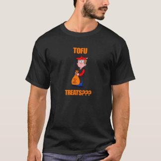 おもしろいな豆腐はハロウィンを扱います Tシャツ