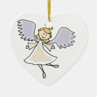 おもしろいな踊りの天使の漫画 セラミックオーナメント