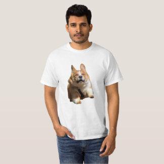 おもしろいな連続したコーギー Tシャツ