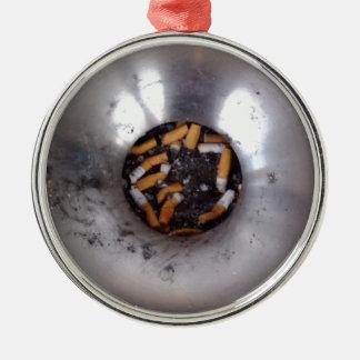 おもしろいな銀製の喫煙者の灰皿の吸いがら メタルオーナメント