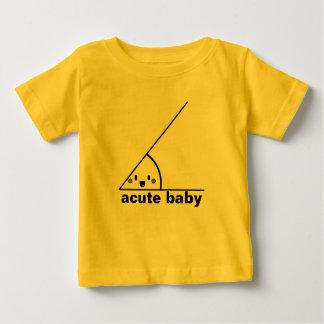 おもしろいな鋭角のオタク系の ベビーTシャツ