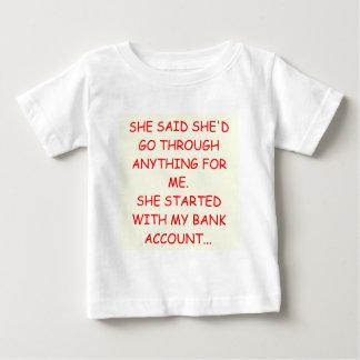 おもしろいな離婚の冗談 ベビーTシャツ