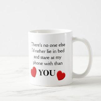 おもしろいな電話愛-マグ コーヒーマグカップ