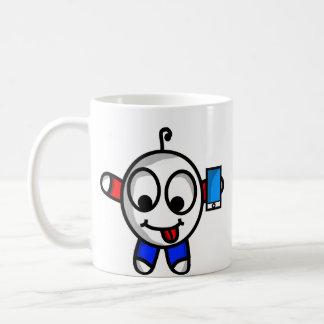 おもしろいな電話男 コーヒーマグカップ