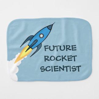 おもしろいな青いRocketshipロケットの未来の科学者 バープクロス