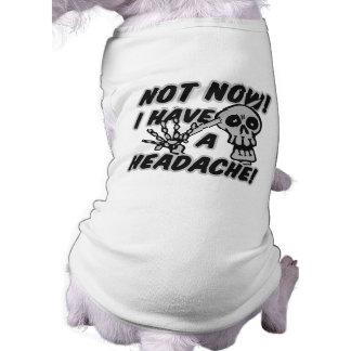おもしろいな頭痛のスカルペット衣類 ペット服