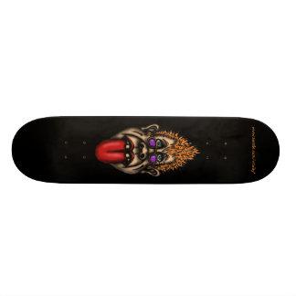 おもしろいな顔のカッコいいの都市写実的なスケートボード 20.6CM スケートボードデッキ