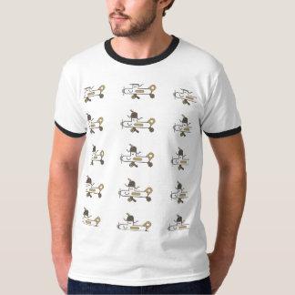 おもしろいな飛行機及びギークのTシャツ2 Tシャツ
