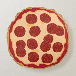 おもしろいな食糧Pepperoniピザ ラウンドクッション