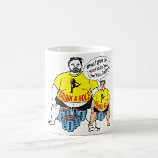 おもしろいな飲まれたパパ及び息子のマグ コーヒーマグカップ