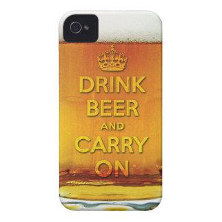 おもしろいな飲み物ビールは続けていき、 Case-Mate iPhone 4 ケース