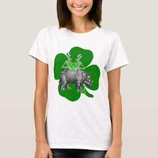 おもしろいな飲むチームアイルランド語St patricks Tシャツ