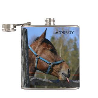 おもしろいな馬のフラスコ フラスク