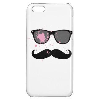 おもしろいな髭およびサングラス iPhone5C カバー
