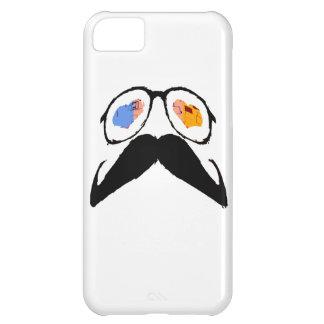 おもしろいな髭ガラス4 iPhone5Cケース