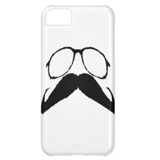 おもしろいな髭ガラス iPhone5Cケース