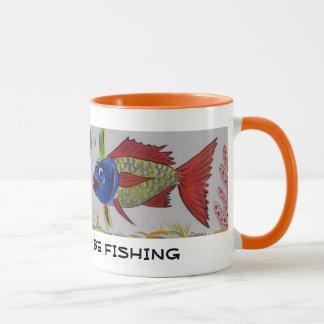 おもしろいな魚のマグ マグカップ
