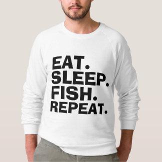おもしろいな魚釣りのTシャツ スウェットシャツ