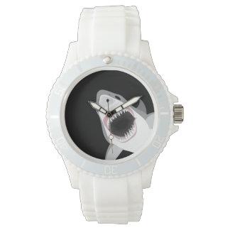 おもしろいな鮫の攻撃 腕時計