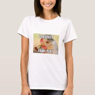 おもしろいな鶏のワイシャツ Tシャツ