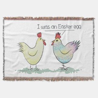 おもしろいな鶏はイースターエッグでした スローブランケット