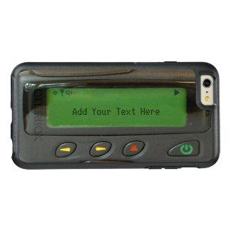 おもしろいな90s古い学校のポケベルの印象的な一見 オッターボックスiPhone 6/6s plusケース