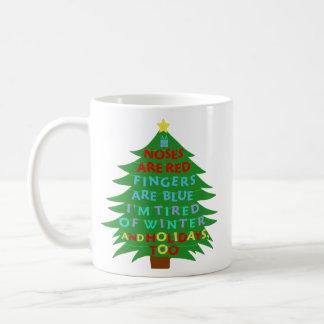 おもしろいなBahのばかばかしいクリスマスの詩 コーヒーマグカップ