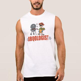 おもしろいなBBQ 袖なしシャツ