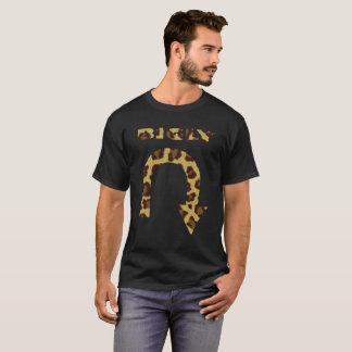 おもしろいなBIGLYのワイシャツの人格のプライドの自我のヒョウの皮 Tシャツ