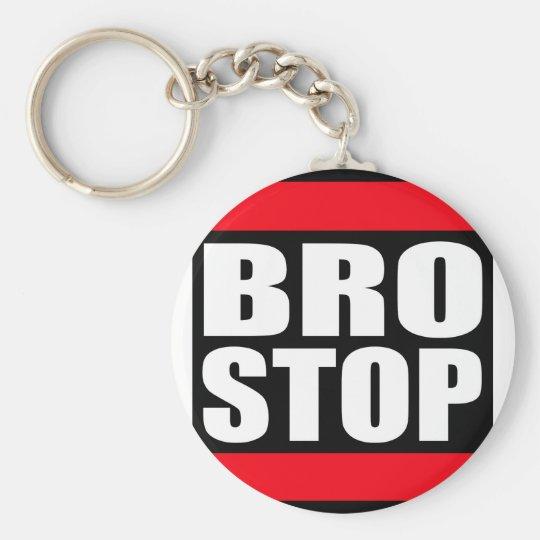 おもしろいなBROSTOP反Brostep Dubstep ベーシック丸型缶キーホルダー