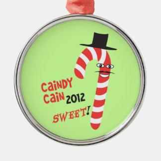 おもしろいなCAINdyカイン-大統領のためのヘルマンカイン2012年 メタルオーナメント