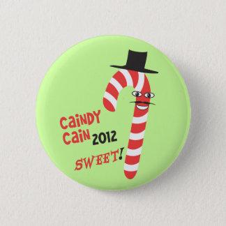 おもしろいなCAINdyカイン-大統領のためのヘルマンカイン2012年 5.7cm 丸型バッジ