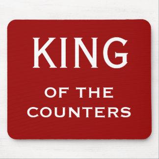 おもしろいなCFOのニックネーム-カウンターの王 マウスパッド