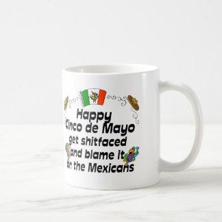 おもしろいなCinco deメーヨーのコーヒー・マグ コーヒーマグカップ