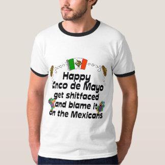 おもしろいなCinco deメーヨー Tシャツ