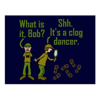 おもしろいなCloggerの足音の漫画の郵便はがき ポストカード
