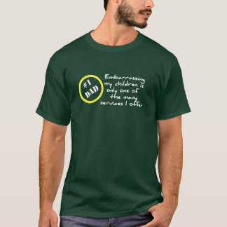 おもしろいなDadismの最も最高のなパパのTシャツ Tシャツ
