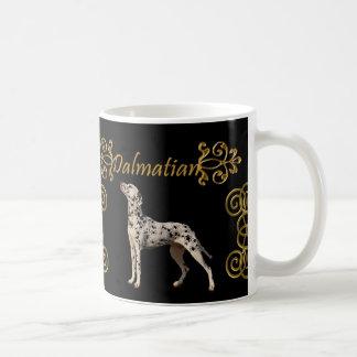 おもしろいなDalmatian優雅 コーヒーマグカップ