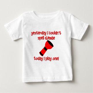 おもしろいなdjembe ベビーTシャツ