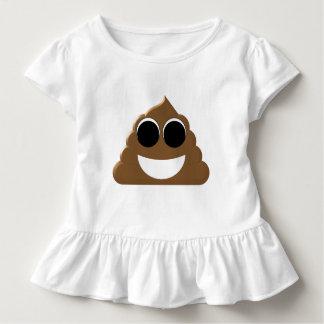 おもしろいなEmoji Poo トドラーTシャツ