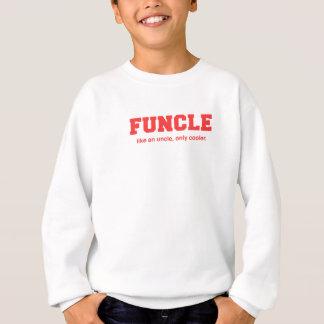 おもしろいなFuncleの大学プリント スウェットシャツ
