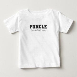おもしろいなFuncleの大学プリント ベビーTシャツ