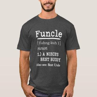 おもしろいなFuncle定義人の叔父さんのワイシャツ Tシャツ