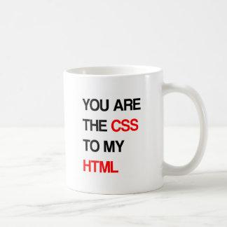 おもしろいなHTMLの引用文 コーヒーマグカップ