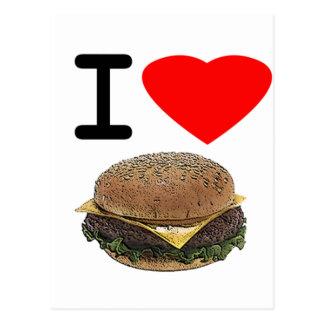 おもしろいなI愛チーズバーガー ポストカード