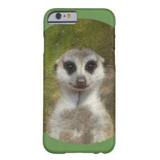 おもしろいなMeerkat 002.03_rd Barely There iPhone 6 ケース