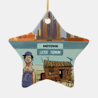 おもしろいなMotown LessTown セラミックオーナメント