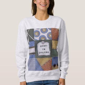 おもしろいなquilter スウェットシャツ