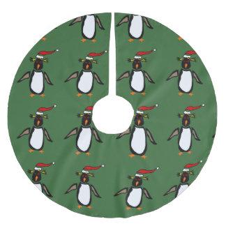 おもしろいなRockhopperのペンギンのクリスマスツリーのスカート ツリースカート